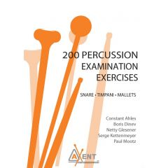 AXENT 200 Percussion Examination Exercises