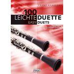 100 Leichte Duette für 2 Klarinetten
